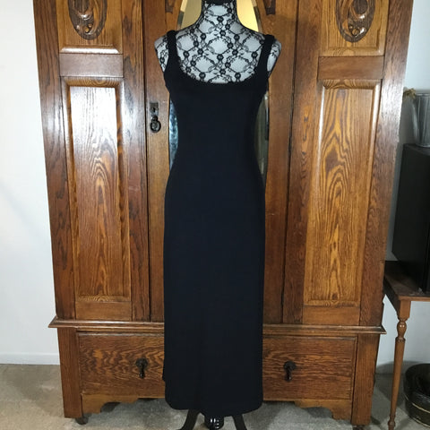 Vintage 90's St. John Sleeveless Knit Sample Dress Gown Size S