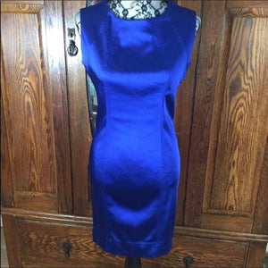 Marc New York Royal Blue Sleeveless Body Con Dress Size 4