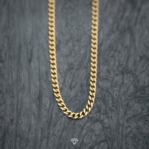 Mens Gold Cuban Chain