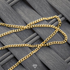 Gold City Micro Cuban Necklace
