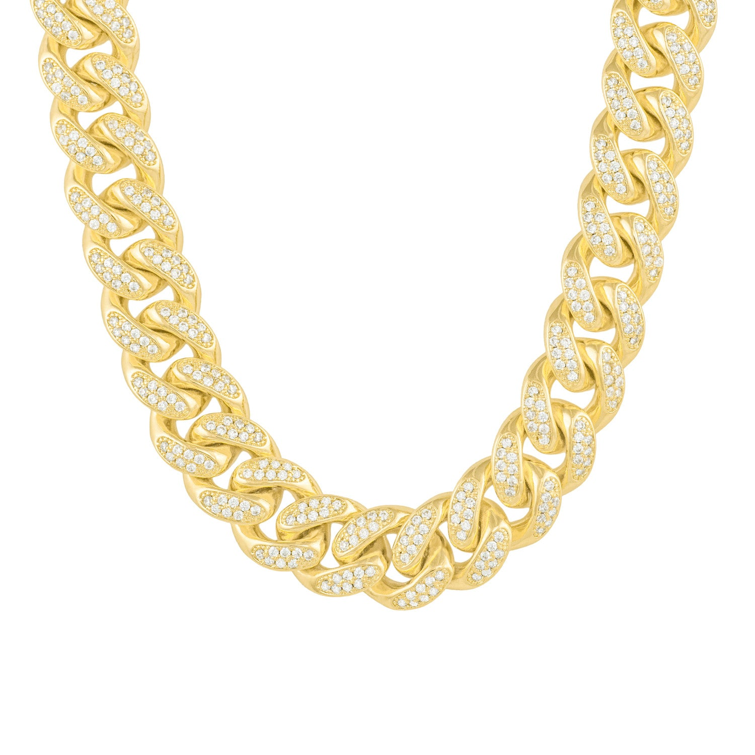 Gold City Diamond Cuban Hip Hop Chain