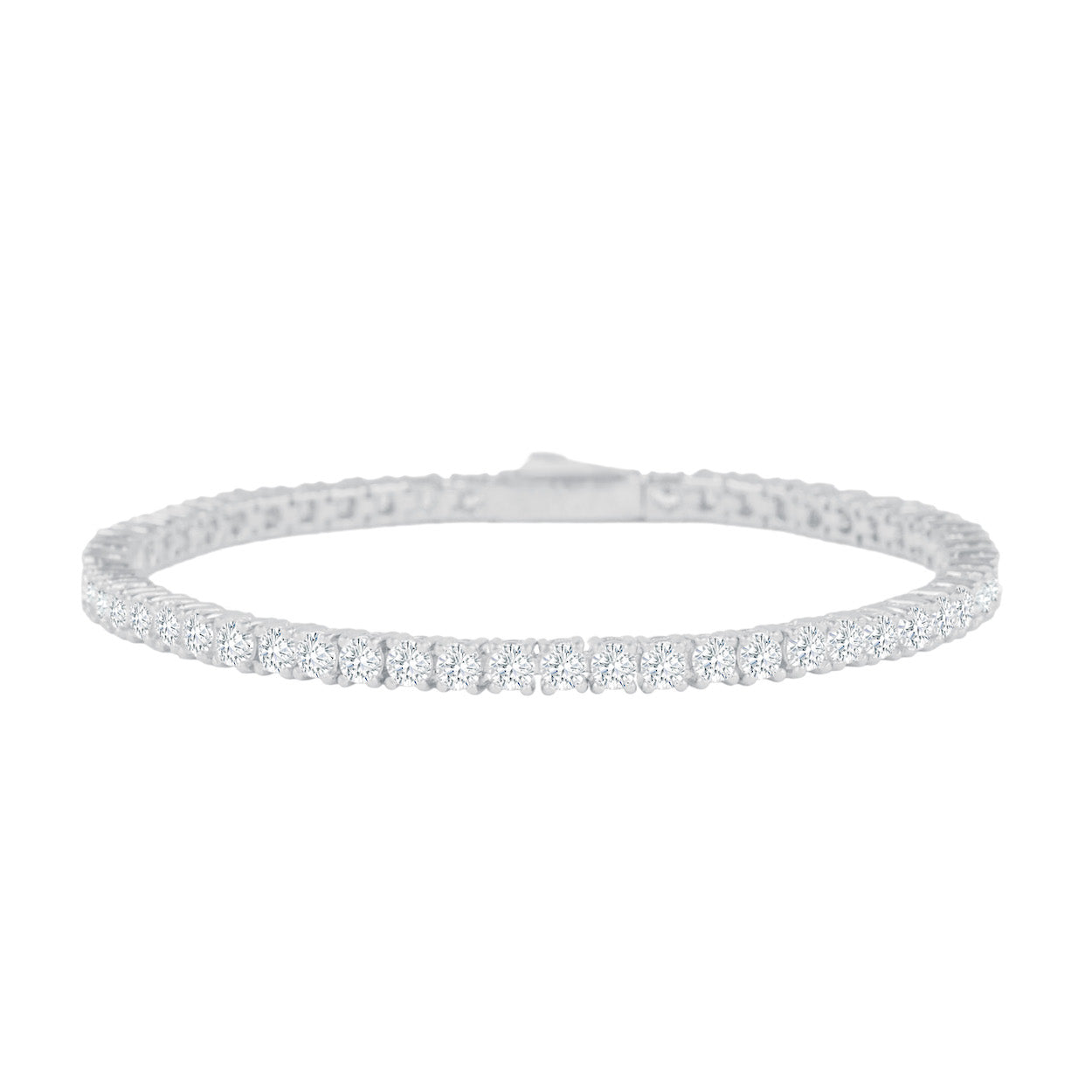 Gold City Luxury Diamond Tennis Bracelet