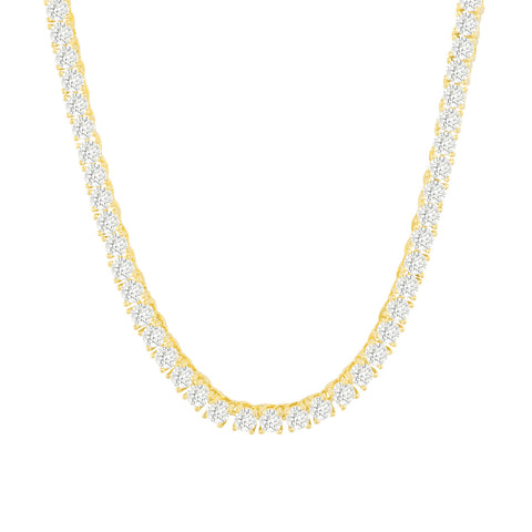 Gold City Luxury Diamond Tennis Chain