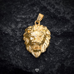 Gold City Yellow Gold Hip Hop Lion Pendant