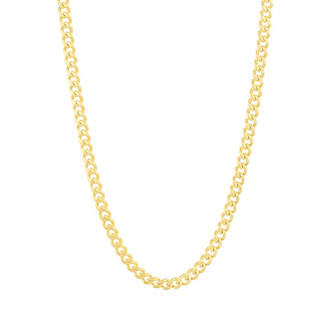 Gold City Micro Cuban Link Chain