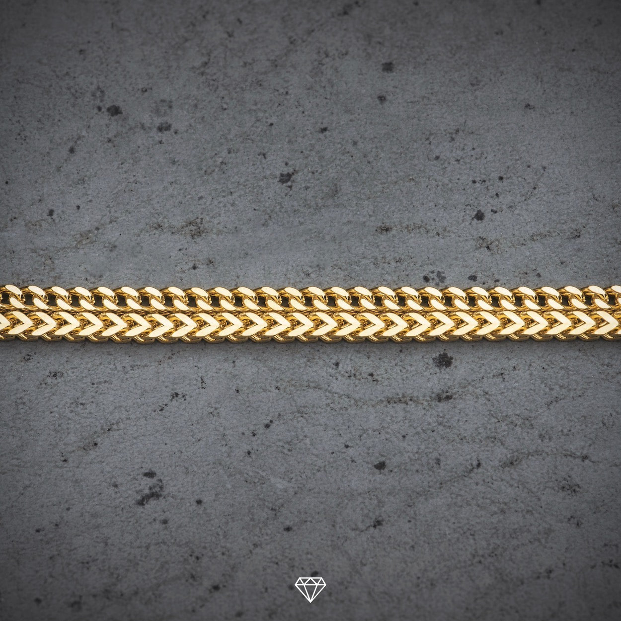 GCS Yellow Gold Franco Chain 3mm