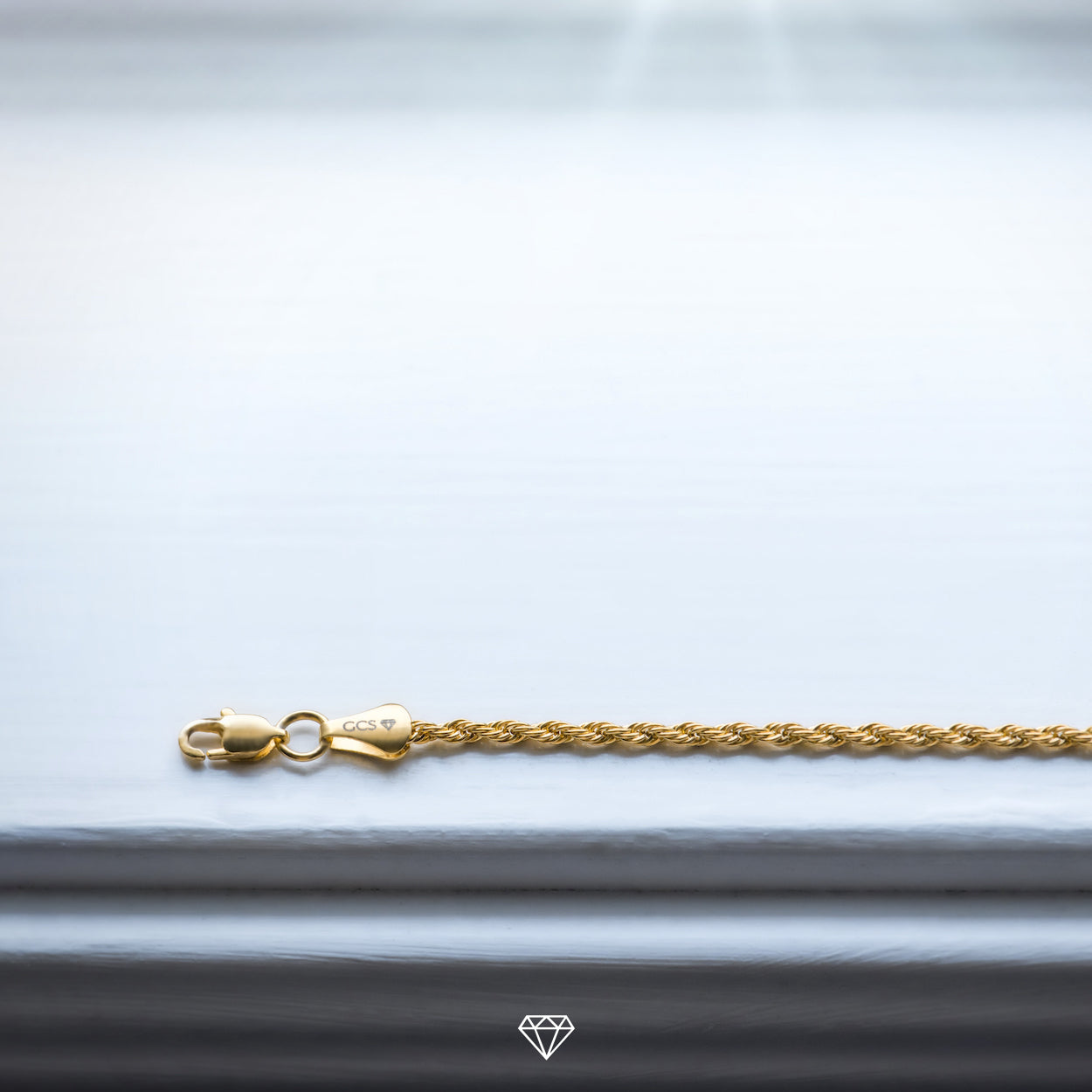 GCS Yellow Gold Luxury Rope Chain
