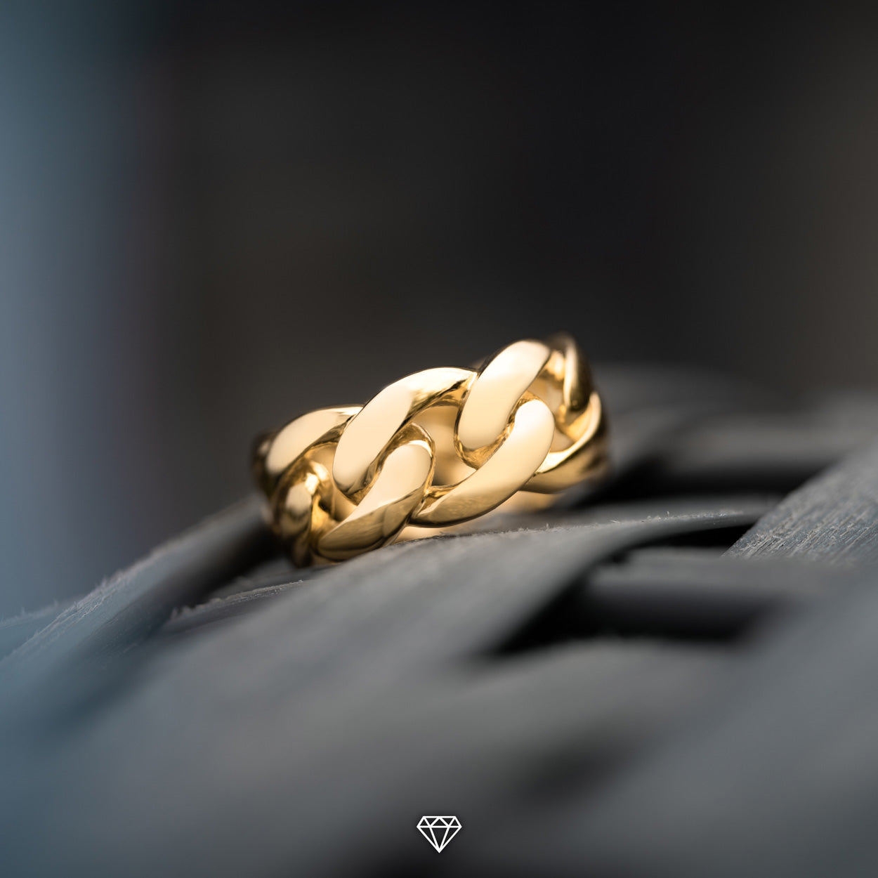 Gold City Cuban Link Hip Hop Ring
