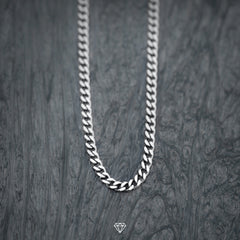 Luxury White Gold Cuban Chain