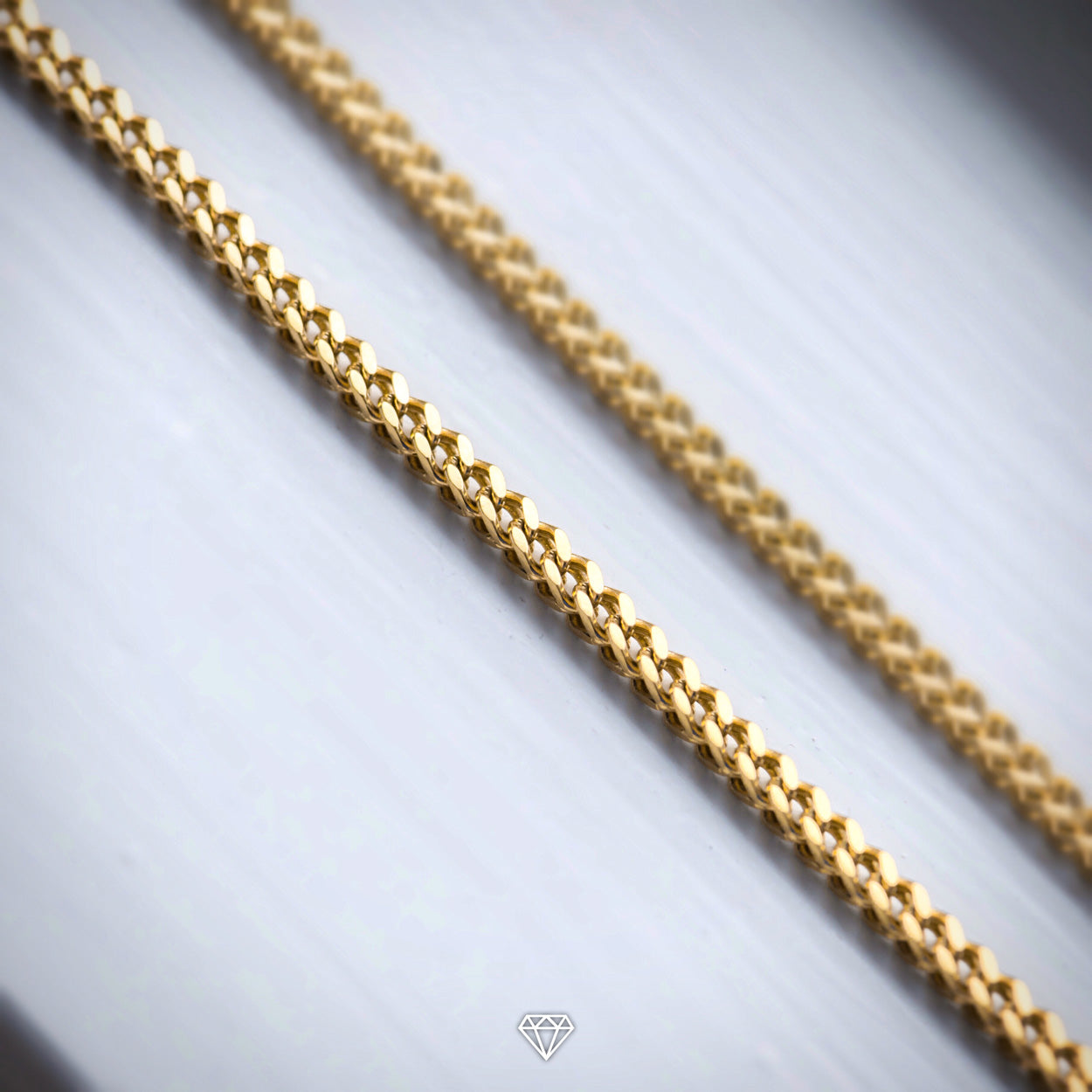 Mens Gold Franco Chain from Gold City