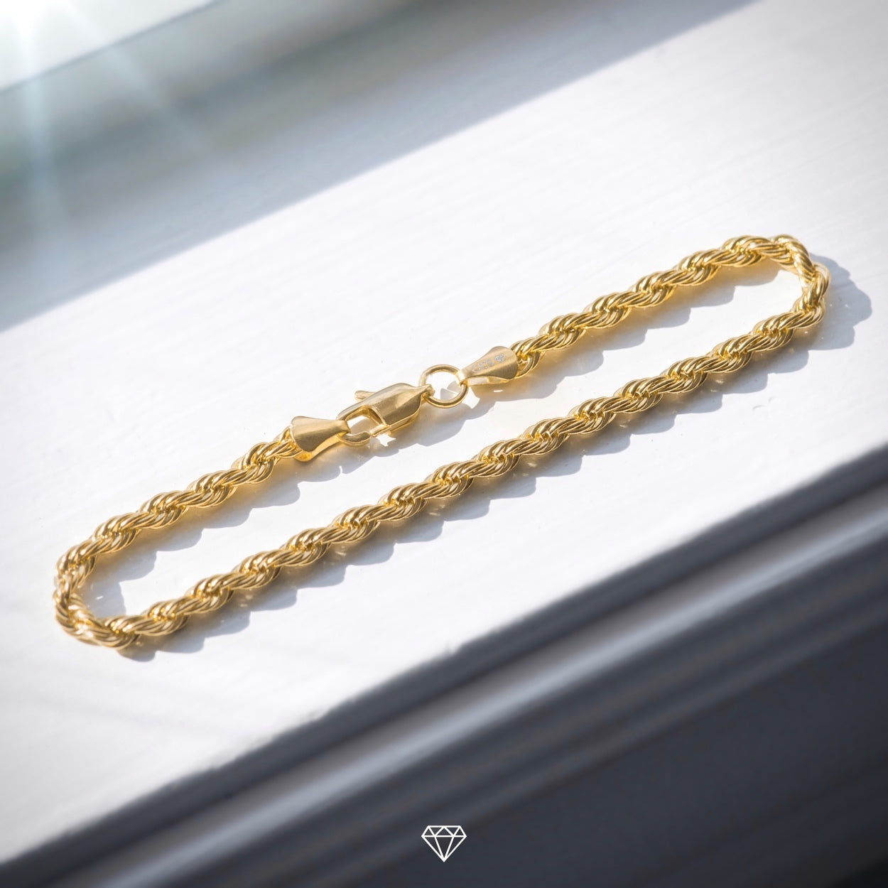 Rope Bracelet - Gold City Shop