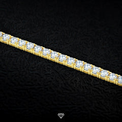 Luxury Diamond Tennis Necklace