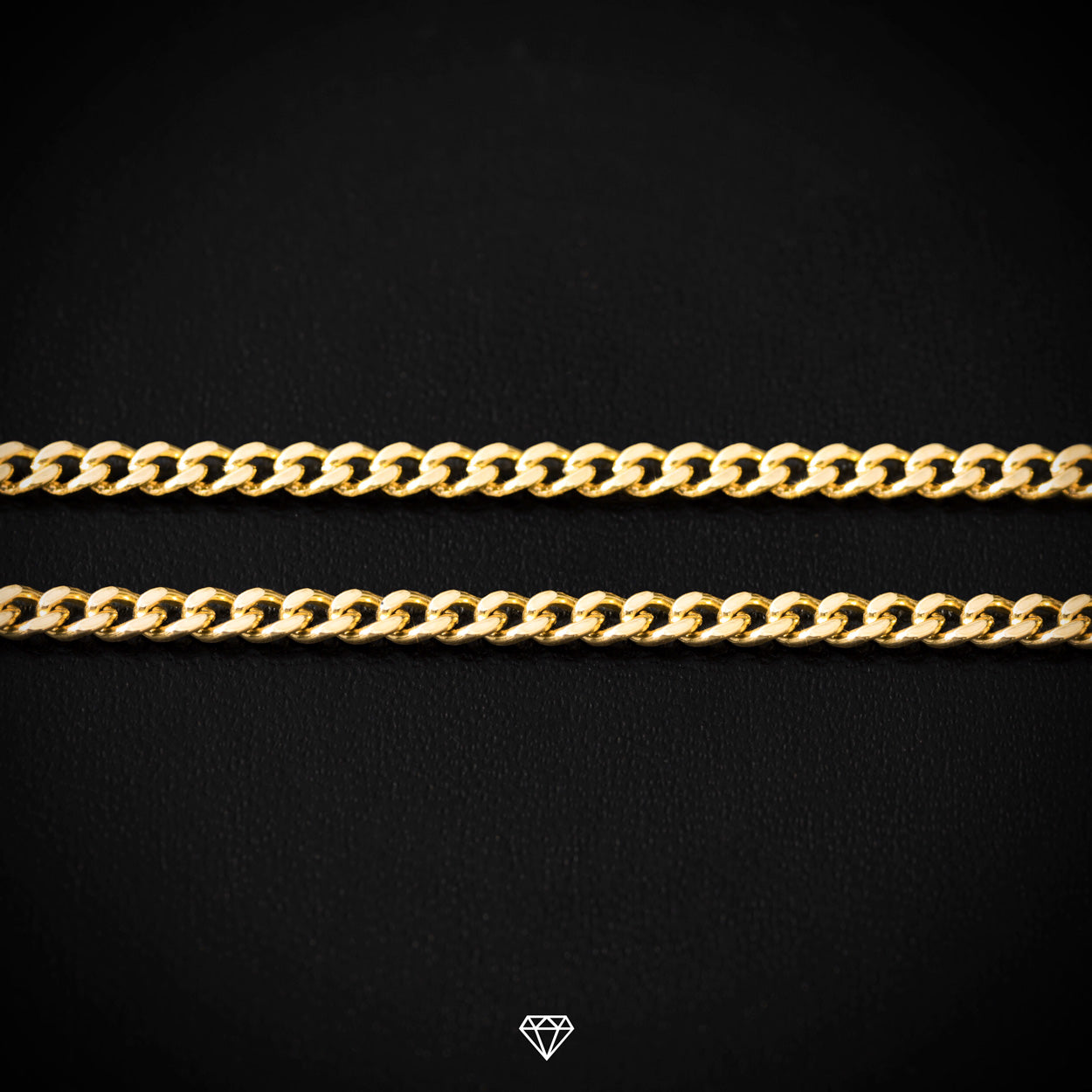 Yellow Gold Micro Cuban Link Chain