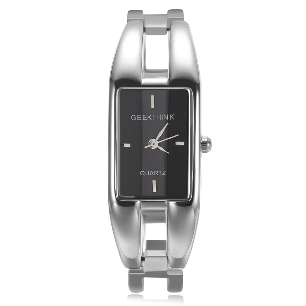 Luxury Brand Quartz Watch Women rectangle Stainless steel band female clock Bracelet Lady Casual Wristwatch gift New