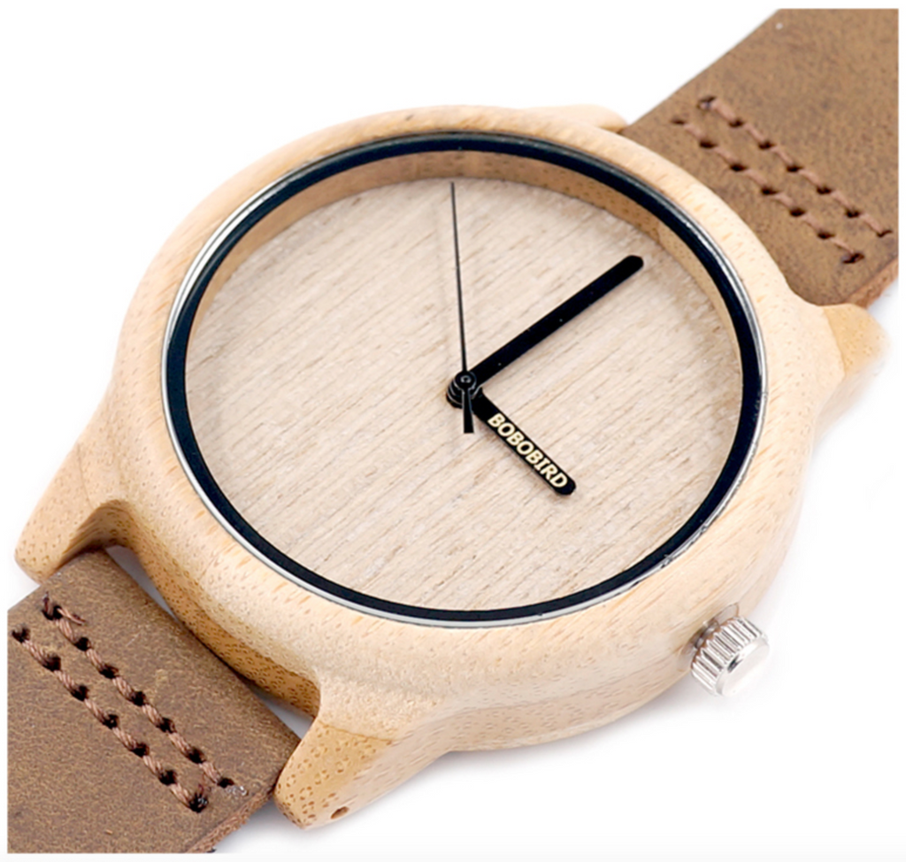 Miyota Bamboo Wood Watch