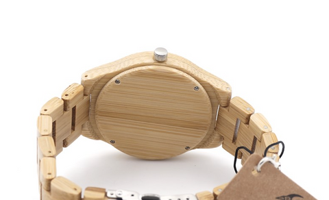 Natural All Bamboo Wood Watch
