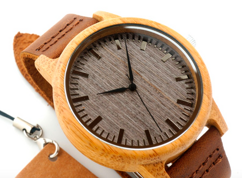 Relojes Mujer Luxury Wood Bamboo Watch