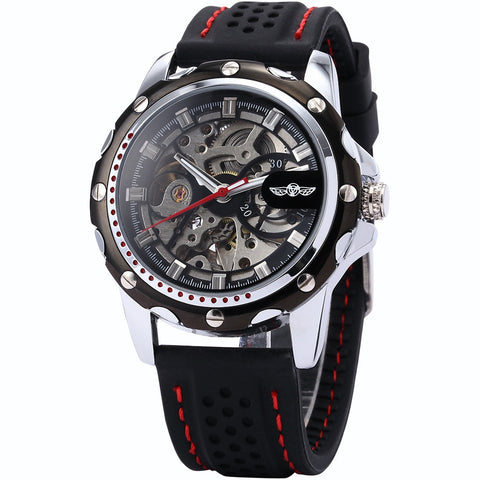 Image of Relogio Masculino Mechanical Skeleton Watch