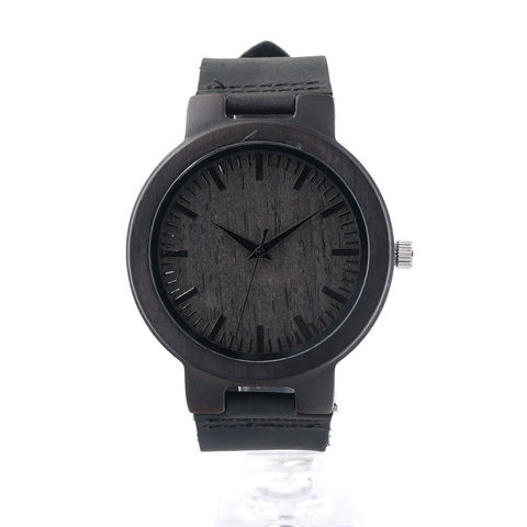 Image of Retro Japan Quartz Movement Wood Watch