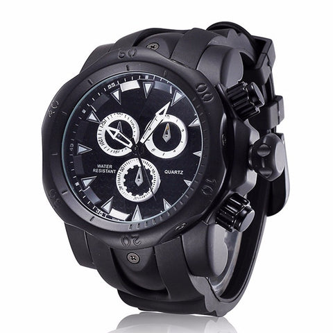 Image of 2017 New Fashion Men's Quartz Sport Military Watches Army Military Casual Watch Montre Leather Strap Male Clock Homme Reloj