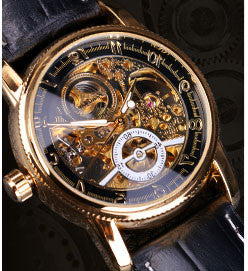 Hollow Engraving Skeleton Watch
