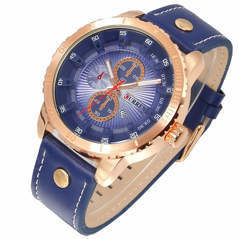 Curren Blue Gold Business Watch