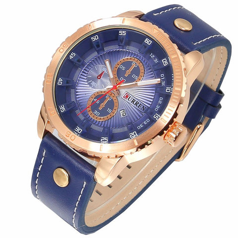 Image of Curren Blue Gold Business Watch