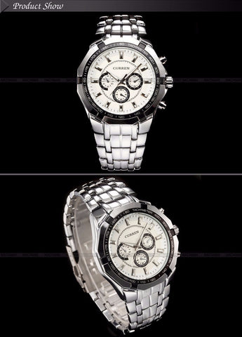 Watch Men Top Luxury Brand Hot Design Military Sports Wrist watches Men Digital Quartz Men Full Steel Watch