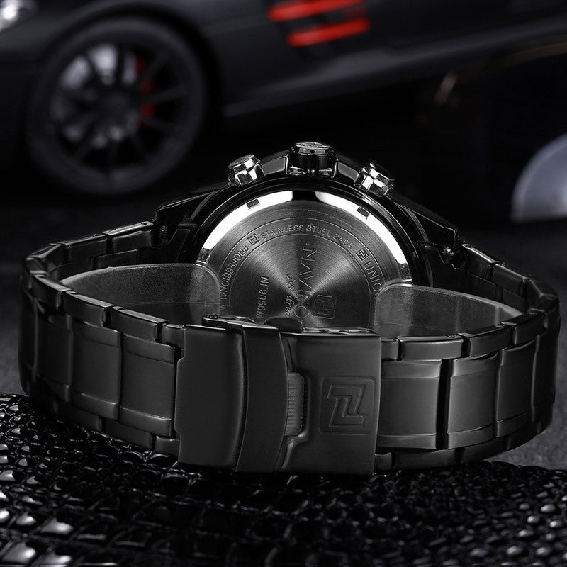 Luxury Brand Men Military Sports Watches Men's Quartz LED Hour Analog Clock Male Full Steel Wrist Watch Relogio Masculino