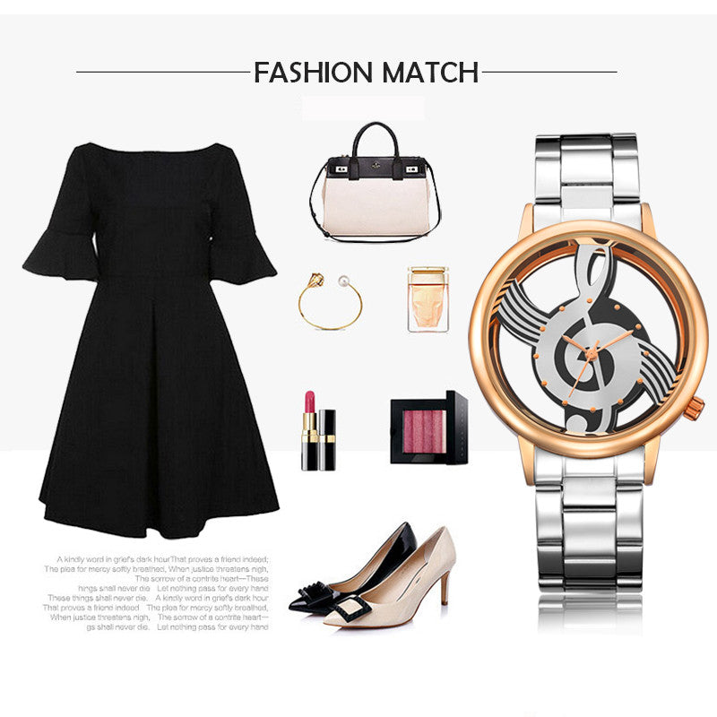 Hollow Quartz Watch Women Luxury Brand Gold Ladies Casual Designer Stainless steel Wristwatch Clock Female Girls Gift