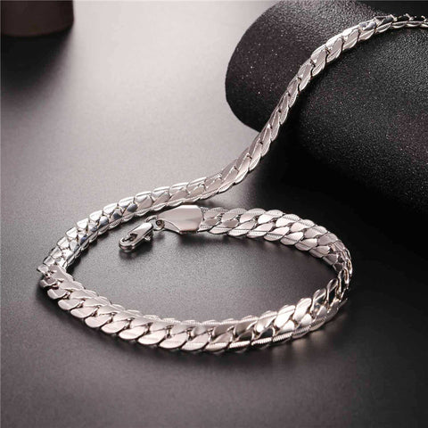 Image of Brand Gold Color Chain Necklace And Bracelet Set Wholesale 9mm Chunky Big Long/Choker Men Jewelry Set 2017 New Fashion S1007