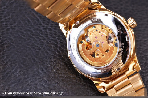 Image of Royal Carving Skeleton Watch