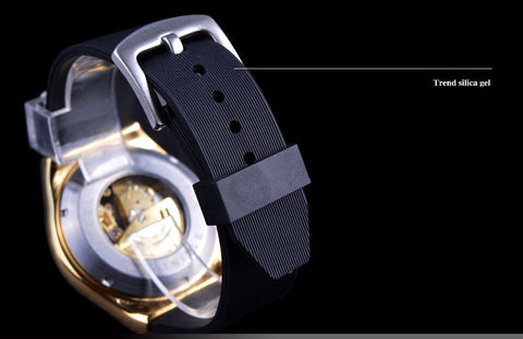 Image of 3 Dial Skeleton Watch