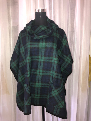 The Plaid Poncho