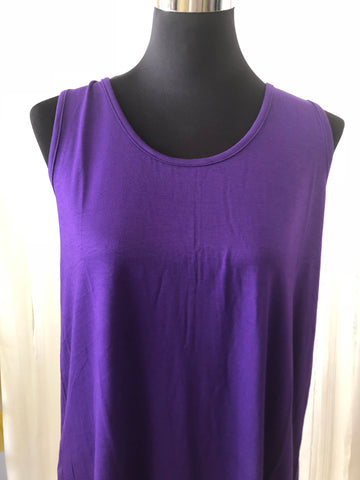 Purple Top with Penguin Tail back