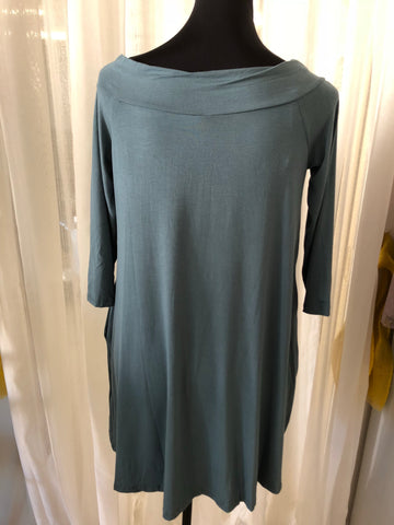 Bamboo V-Neck Dress