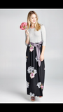 Maxi with Floral Skirt