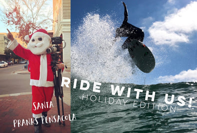 "Happy Holidays! New Episode of ""Ride with Us! Santa Pranks Pensacola"