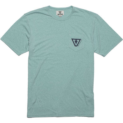 Vissla heathered tee shirt - mens surf t shirt