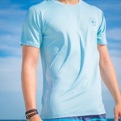 Innerlight Surf Rashguard Light Blue - Sun Protection shirt - SPF shirt