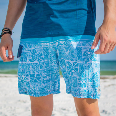 Innerlight - Deep Blue Boardshorts - Mens Surf Shorts