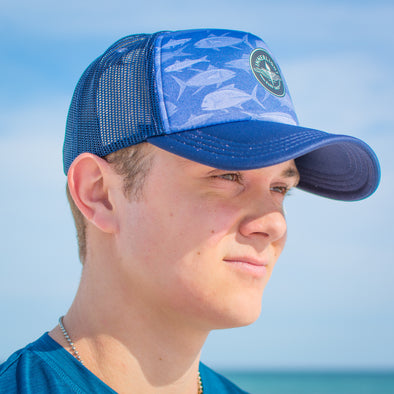 Innerlight Trucker Hat - Fish Print