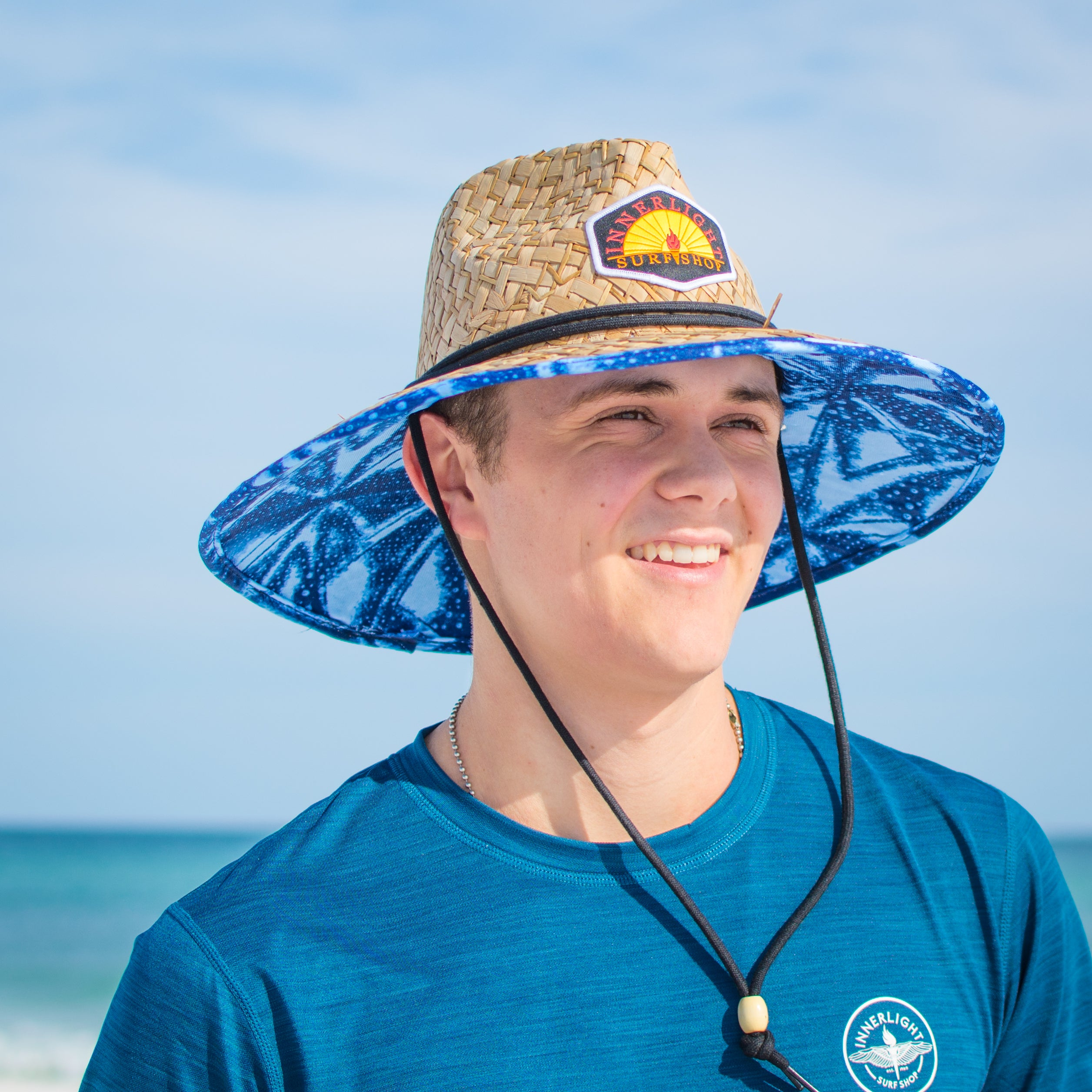 a592fc06 Innerlight Straw Hat - The ultimate beach day hat - Lifeguard Hat ...