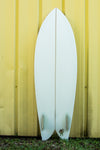 "6'2"" Chris Christenson Fish - Twin Fin Surfboard"