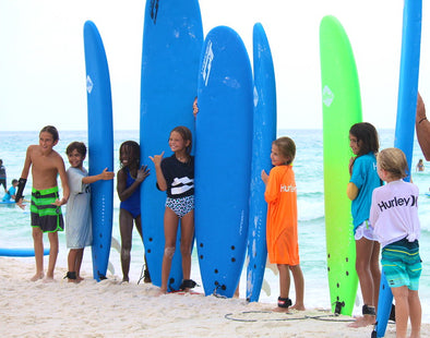 Kid's Surf Contest