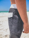 Innerlight Horizons Boardshorts - Black | White - Mens Shorts