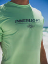 Innerlight Surf Rashguard Lime Heather - Sun Protection shirt - SPF shirt - Free Shipping