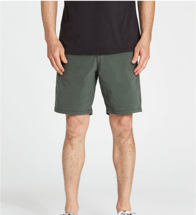 "Billabong New Order x Overdye 19"" - Mens Hybrid Shorts - DKO"