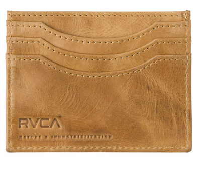 RVCA Newland Wallet - Leather Wallet - Card Wallet