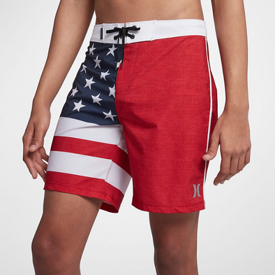 "Hurley Phantom Cheers - Mens 18"" Boardshorts - AMERICA USA"